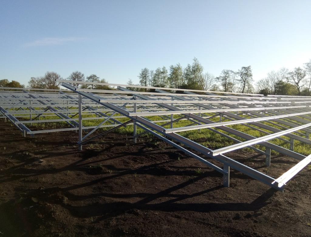 estruturas para instalação de paineis fotovoltaicos