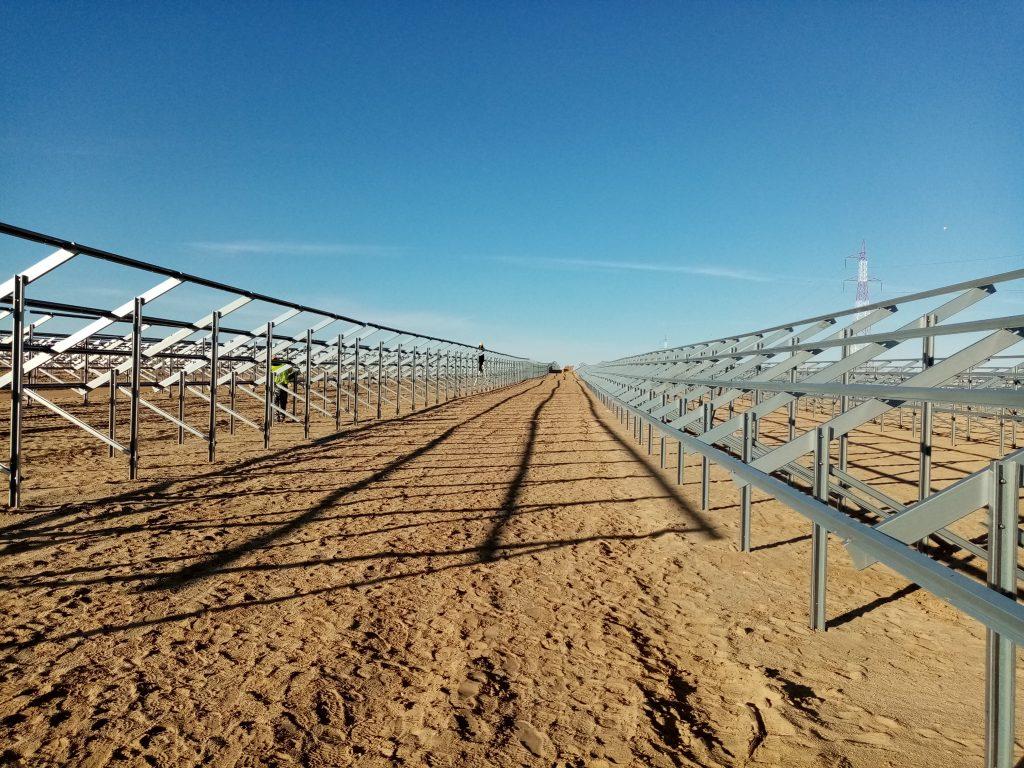 instalação de paineis fotovoltaicos