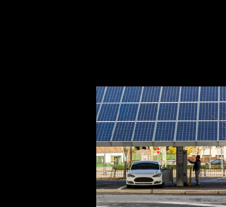 paineis fotovoltaicos em bomba de combustivel
